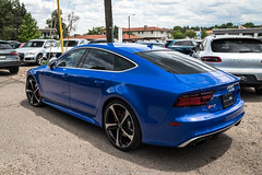 Driven (Hunter J. G. Frim Photography) Tags: supercar colorado audi blue v8 turbo awd german sedan rs7 audirs7