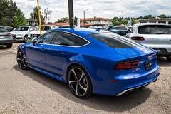 Driven (Hunter J. G. Frim Photography) Tags: supercar colorado audi blue v8 turbo awd german sedan rs7 audirs7