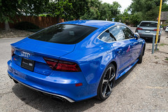 RS7 (Hunter J. G. Frim Photography) Tags: supercar colorado audi blue v8 turbo awd german sedan rs7 audirs7