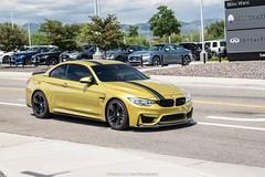 Loud (Hunter J. G. Frim Photography) Tags: supercar colorado bmw m4 f82 convertible gold yellow german i6 turbo bmwm4 bmwm4f82
