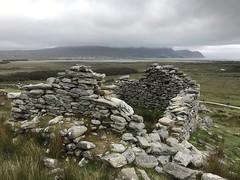 Slievemore Deserted Village, Achill Island, Co. Mayo (woody lauland) Tags: ireland countymayo achillisland achill slievemore deserted village ruins stones rocks abandoned view landscape