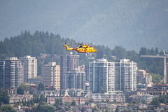Forces helicopter (Ross G. Strachan Photography) Tags: britishcolumbia canada coastguard deadmansisland forces vancouver helicopter