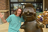 Hanging out with Buc-ee (radargeek) Tags: bucees fortworth texas tx beaver bucee me statue 2019 june roadtrip
