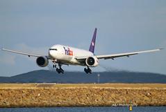 Fed Ex B777 N885FD 14-06-2019 Sydney Airport (Annette_747) Tags: fedex b777 boeing planespotting canon sydneyairport sydney