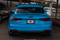Fully Loaded (Hunter J. G. Frim Photography) Tags: supercar colorado audi blue v8 turbo awd german sedan riviera rivierablue rs5 audirs5