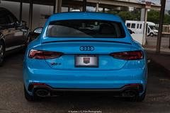 Fully Loaded (Hunter J. G. Frim Photography) Tags: supercar colorado audi blue v8 turbo awd german sedan riviera rivierablue rs5 audirs5