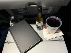 End of a Business Trip (kevincrumbs) Tags: americanairlines aa airbus a321 a321200 airbusa321 airbusa321200 beverage alcohol cocktail wine kalimotxo n147aa