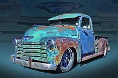 48 Custom Chevy Rat Truck (Brad Harding Photography) Tags: 1948 1954 1950 ratrod crusty rusty rustic customized truck utility pickup chrome chevrolet chevy antique restoration restored paola kansas carshow heartlandcarshow