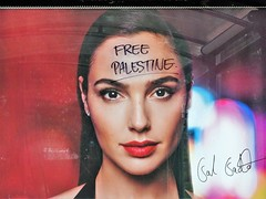 Free Palestine (knightbefore_99) Tags: commercialdrive thedrive vancouver eastvan cool great italian italy car free day awesome street party poster political palestine message resist