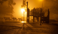 Welcome To The Playground (MadMartigen) Tags: playground fog foggy yonkers hudsonvalley ny newyork westchester park