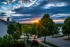 2019-164/365 June Sunset (Sharky.pics) Tags: spring landscape sunset clouds nature wisconsin sky city june unitedstates 2019 waukesha suburban
