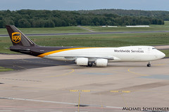 N612UP - Boeing 747-8F - United Parcel Service (UPS) (MikeSierraPhotography) Tags: 747 air airlines airport boeing cgn cgneddk cologne country deutschland flughafen flugzeug germany köln manufacturer plane spotting town unitedparcelserviceups