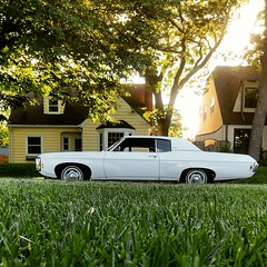 Caprice (theleakybrain) Tags: caprice chevy chevrolet classiccar golden hour parked