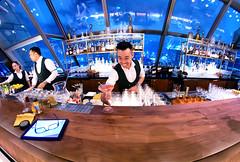 Having a drink at Lennon's (Asiacamera) Tags: asiacamera bangkok thailand bar bartender