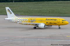 D-ABDU - Airbus A320-214 - Eurowings (MikeSierraPhotography) Tags: a320 air airbus airlines airport cgn cgneddk cologne country deutschland eurowings flughafen flugzeug germany köln manufacturer plane spotting town dabdu hertz