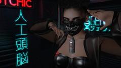 Strawberry Flavor (tralala.loordes) Tags: secondlife sl slfashionblogging slblogging tralalaloordes tralala tra flickrblogging flickrart fashion virtualphotography virtualreality vr avatar event mancave kuddelmuddelraijinmask juansezero raijin japanese godofthunder mask flavored kuddelmuddel zibska