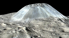 Unusual Mountain Ahuna Mons on Asteroid Ceres (swap_82) Tags: ifttt nasa