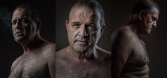 DSC_1633 (sengsta) Tags: triptych male middleage portrait studio lighting