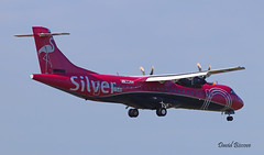 ATR 72 n° 1548 ~ F-WWEE  Silver (Aero.passion DBC-1) Tags: dbc1 david biscove aeropassion avion aircraft aviation airshow plane lbg bourget salon du 2019 paris atr 72 ~ fwwee silver
