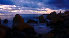 Me reinvento (andresChac) Tags: mar photo view longexposure blue pacifico
