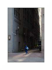 blue monday (anthonyaicardi) Tags: chicago street city woman blue xpro1 supertakumar 55mm