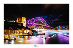 Vivid Nine (Eddy Summers) Tags: pentax pentaxaustralia urban sydney operahouse sydneyoperahouse harbourbridge vivid landscape longexposure nsw australia lightpainting city nightlife f28 f28mm k1captures k1 pentaxk1 sydneyharbourbridge sydneyvivid bridge