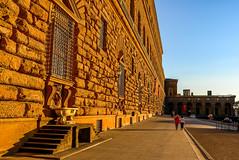 Italy - Firenze - Piazza Pitti (andrei.leontev) Tags: italia italie italy toscana toscane toskana piazzapitti pittipalace palaispitti sunset