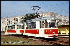109-1991-10-06-7-Bisamkiez (steffenhege) Tags: potsdam vip tram tramway strasenbahn streetcar sonderfahrt gothawagen gothazug t62 historischertriebwagen historischerzug 109