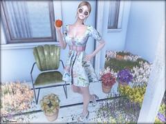 - Flowers & Apples - (Nina DiLeonardi) Tags: palegirlproductions vintagefair