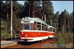 109-1991-10-06-14-Stern (steffenhege) Tags: potsdam vip tram tramway strasenbahn streetcar sonderfahrt gothawagen gotha t62 historischertriebwagen historischerzug 109