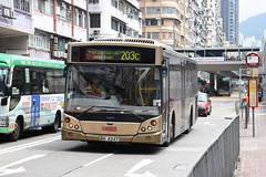 xxx 11 Kowloon Motor Bus AVC67 RK4247 203C (Howard_Pulling) Tags: hk kowloon bus buses kmb 203c