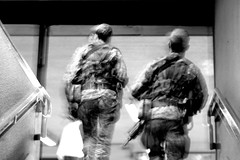 Slowmotion (carlo612001) Tags: slowmotion monochrome security army control action
