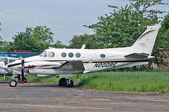 N200RE Beech E90 King Air Gray Aviation Inc Trustee Sturgate  EGCS Fly In 02-06-19 (PlanecrazyUK) Tags: n200re beech e90 king air grayaviationinctrustee sturgate flyin 020619 egcs