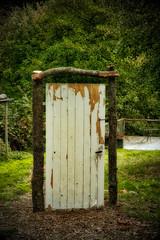 come in to get out !! (tucsontec) Tags: door outdoor tür art garden garten gate mysterie mystic