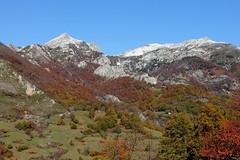 PAISAJE DE CASO - ASTURIAS (2) (mflinera) Tags: asturias concejo de caso paisaje montañas cielo arboles
