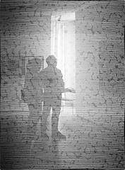 Jonas Hohnke (schubertj73) Tags: jonas hohnke städtische galerie gallery iserlohn osthaus museum municipal ausstellung exhibition sichtweiten fotografie foto fotos photo photography photos photoart photographien art artwork artworks artphoto artphotography schubertj73 fujifilm x10 nb bw noir blanc black blackwhite schwarzweis schwarz weis weiss zwartwit sw white monochrome monochromo camaieu blackandwhite spiegelung spiegelungen reflection westdeutscher künstlerbund