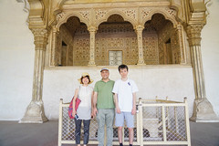 DSC05454.jpg (jmarnaud) Tags: old family red people india building architecture spring fort agra 2019 moghol kiki jm akiko