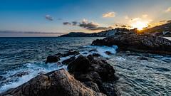 Mallorca - Sunset - Peguera 1170 (Peter Goll thx for +12.000.000 views) Tags: mediterran rock d850 nikon meer felsen peguera sonnenuntergag wellen mediterransea mittelmeer beach spain majorca mallorca island sea sunset nikkor waves spanien insel calvià balearischeinseln