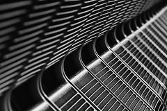 Take a seat (Leipzig_trifft_Wien) Tags: zingst mecklenburgvorpommern deutschland detail abstract line geometry structure pattern black white monochrome blackandwhite bnw bw
