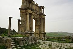 Djemila,  Arch of Caracalla (johnwagner13) Tags: algeria djemila archofcaracalla romantown