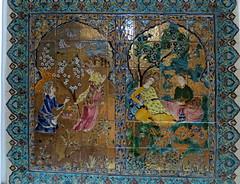 Algiers, Hotel El Djazir,  Persian wall tiles (johnwagner13) Tags: algieria algiers hoteleldjazir persianwalltiles