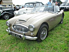 860 Austin-Healey 3000 Mk.III (1965) (robertknight16) Tags: austinhealey british 1960s sportscar bmc lupinfarm lupinfarm2015 ede110c
