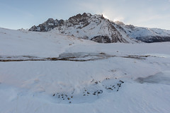 Winter's View #5 (Nicolas Gailland) Tags: landscape nature paysage montagne mountain peaks hiver winter snow neige white blanc meije grave ecrins écrins alps alpes alpe oisans france canon hitech filter lee gnd nd mark