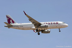 Qatar Airways Airbus A320-232 'A7-AHQ' LMML - 11.06.2019 (Chris_Camille) Tags: spottinglog registration planespotting spotting maltairport airplane aircraft plane sky fly takeoff airport lmml mla aviationgeek avgeek aviation canon5d canon livery myphoto myphotography