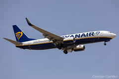 Ryanair Boeing 737-8AS 'EI-EBH' LMML - 11.06.2019 (Chris_Camille) Tags: spottinglog registration planespotting spotting maltairport airplane aircraft plane sky fly takeoff airport lmml mla aviationgeek avgeek aviation canon5d canon livery myphoto myphotography