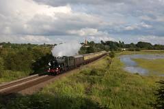 7029 - Kings Sutton (Oli G 15) Tags: 7029 clun castle gwr great western railway class loco locomotive kings sutton church steam train rail tour 2019 oxford 175