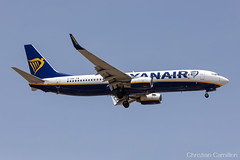 Ryanair Boeing 737-8AS 'EI-DYZ' LMML - 11.06.2019 (Chris_Camille) Tags: spottinglog registration planespotting spotting maltairport airplane aircraft plane sky fly takeoff airport lmml mla aviationgeek avgeek aviation canon5d canon livery myphoto myphotography