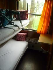 Mitropa-Schlaf-Abteil (Jörg Paul Kaspari) Tags: erlebnisbahnhof schmielau ratzeburg erlebnisbahn schmilau mitropa schlafwagen mitropaschlafwagen kabine abteil