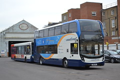 Stagecoach South 10966 SN18KOV (Will Swain) Tags: worthing 5th january 2019 bus buses transport travel uk britain vehicle vehicles county country england english sussex south coast stagecoach 10966 sn18kov