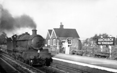 Early Days. (curly42) Tags: steam railway lightengine ashchurch britishrailways